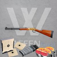 Walther Lever Action Wells Fargo CO2 Gewehr Set