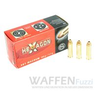 Geco .357Mag Hexagon 180gr Revolvermunition