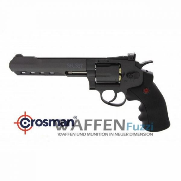 Crosman SR357 CO2 Revolver 4,5 mm BB, brüniert