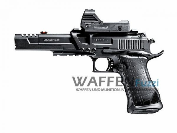 Umarex Race Gun Kit CO2 Pistole 4,5 mm BB Blow Back
