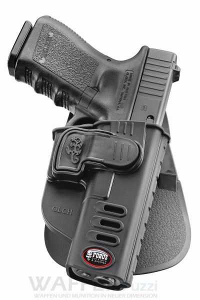 Fobus Paddle Trigger Locking Holster LINKS für Glock 17 & Glock 19