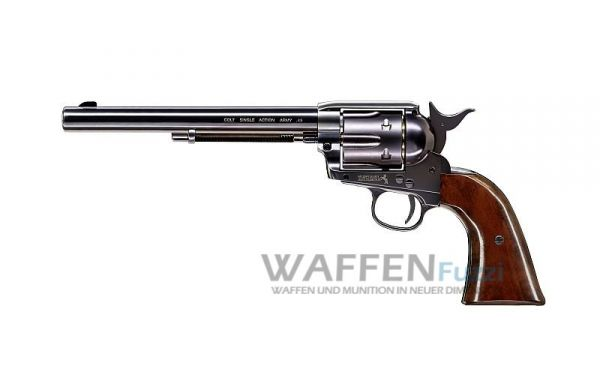 "Colt 7,5"" Single Action Army .45 CO2-Revolver Blued Kaliber 4,5 mm Diabolo"