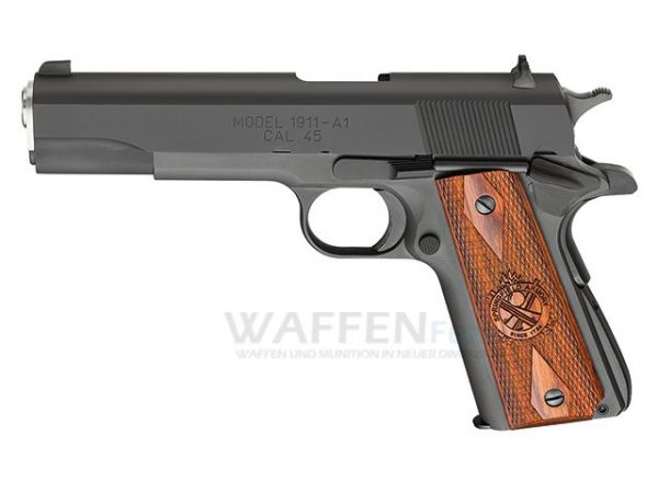 Springfield Armory 1911 CO2 BlowBack Pistole 18 Schuss 4,5mm Stahl BB