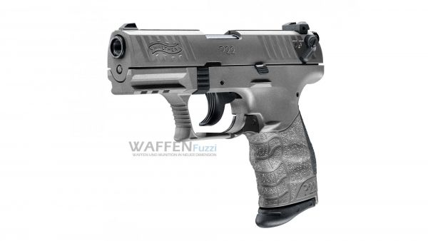 Walther P22Q Tungsten Grey Kaliber 9mm Knall
