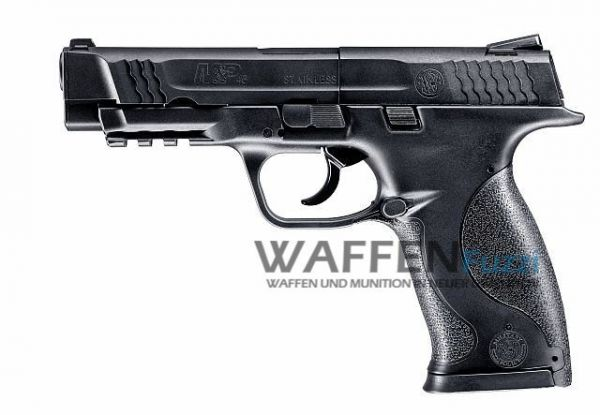 Smith & Wesson M&P45 CO2 Pistole 4,5 mm Diabolo, brüniert