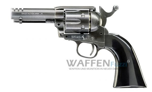 "Colt Single Action Army .45 CO2 Revolver Custom Shop Edition 3,5"" Kaliber 4,5mm BB"