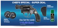 Smith & Wesson Chiefs Special - Super Deal - Schreckschussset