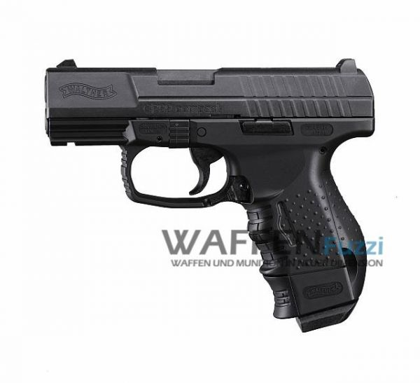 Walther CP99 compact CO2 Pistole 4,5 mm BB, brüniert