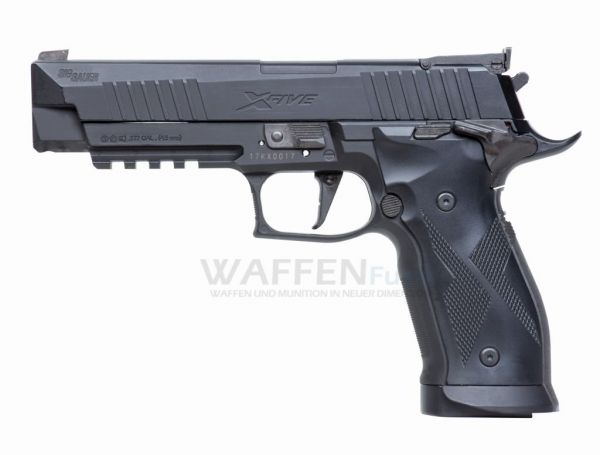 Sig Sauer X-Five 4,5mm CO2 Pistole mit BlowBack