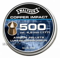 Walther Copper Impact Kupfer-Spitzkopf, 4,5mm