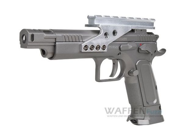 Tanfoglio Gold Custom 4,5mm CO2 Pistole mit BlowBack