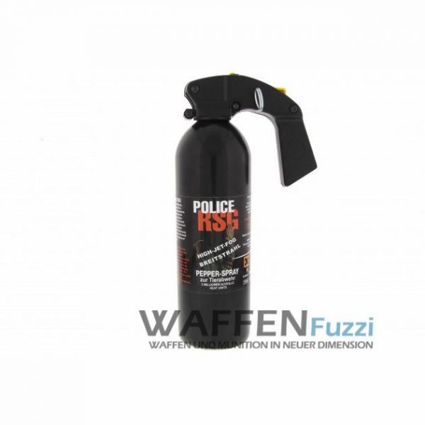 RSG Police - High Jet Fog - Breitstrahl Pfefferspray 750 ml