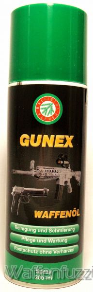Gunex 2000 Waffenöl 200ml Spray