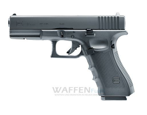 CO2 Pistole Glock 17 Generation 4 Kaliber 4,5mm Stahl BB mit BlowBack