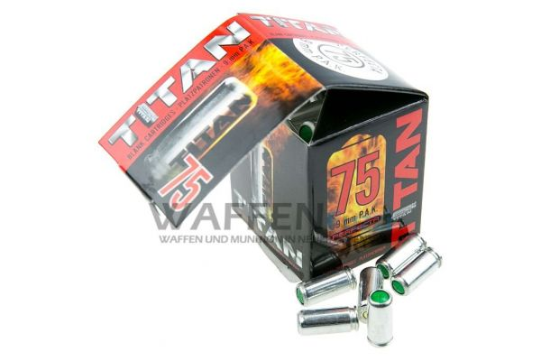 Perfecta Titan Platzmunition Kaliber 9mm PAK