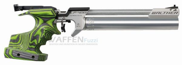Walther LP400 Green Pepper Carbon Kaliber 4,5mm Diabolo