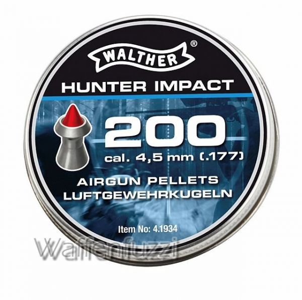Walther Hunter Impact 4,5mm Airgun Pellets