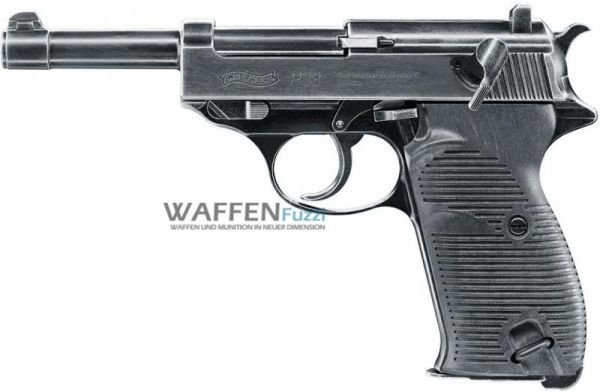 Walther P38 Legendary CO2 Pistole Vollmetall BlowBack