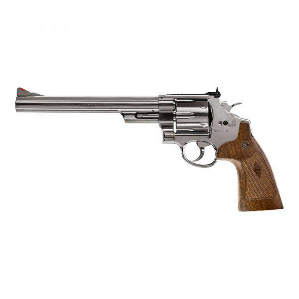 """M29 Smith & Wesson CO2 Revolver 8 3/8"""" Kaliber 4,5mm Stahl BB"""