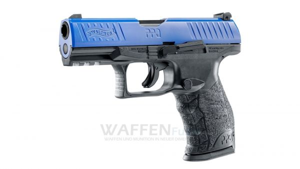 Walther PPQ M2 RAM Pistole mit CO2 Antrieb Training for Engagement