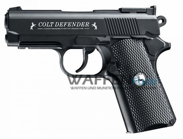 Colt Defender CO2 Pistole 4,5 mm BB, schwarz
