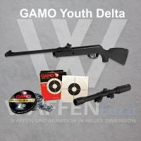 Gamo Youth Delta Luftgewehr-Set Kaliber 4,5mm Diabolo