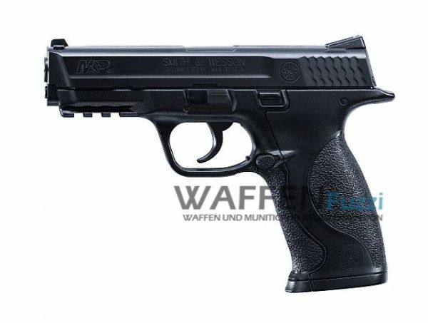 Smith & Wesson M&P40 CO2 Pistole 4,5 mm BB, brüniert