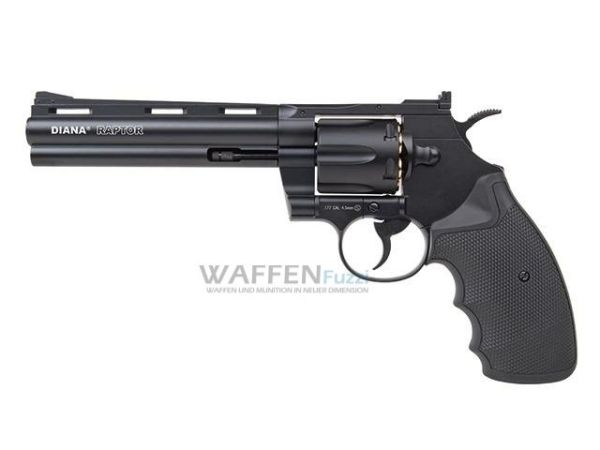 "Raptor Diana 6"" CO2 Revolver mit 4,5mm Diabolo"
