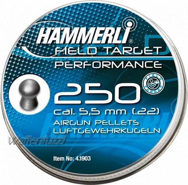 Hämmerli FT Performance, Rundkopf 5,5mm Diabolo