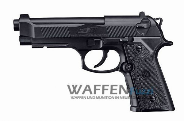 Beretta Elite II CO2 Pistole 4,5 mm BB, schwarz