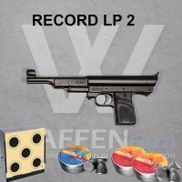 Record LP 2 Luftpistole im Set