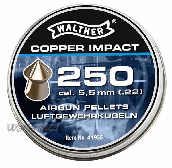 Walther Copper Impact 5,5mm Diabolo