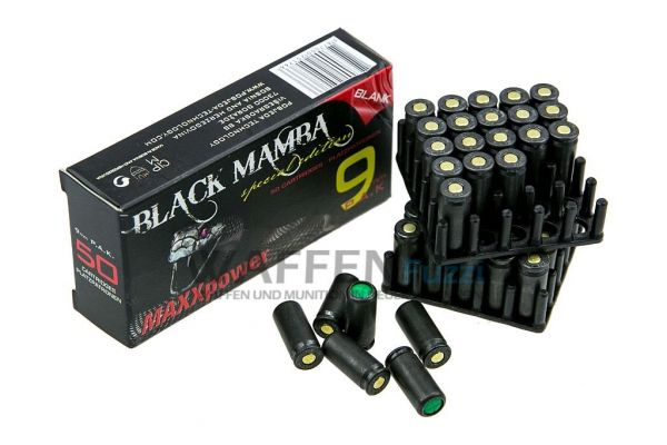 Black Mamba Maxx Power Platzpatronen 9mm P.A.K.