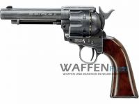 Colt Single Action Army 45 CO2 Revolver 4,5 mm BB, matt brüniert