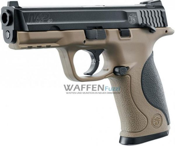 Smith & Wesson M&P40 TS FDE CO2 Pistole 4,5mm Stahl BlowBack
