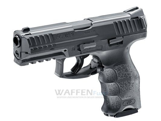 H&K VP9 Metall CO2 Pistole Kaliber 4,5mm Stahl BB mit BlowBack