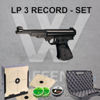 Record LP3 Luftpistole Kaliber 4,5mm Set