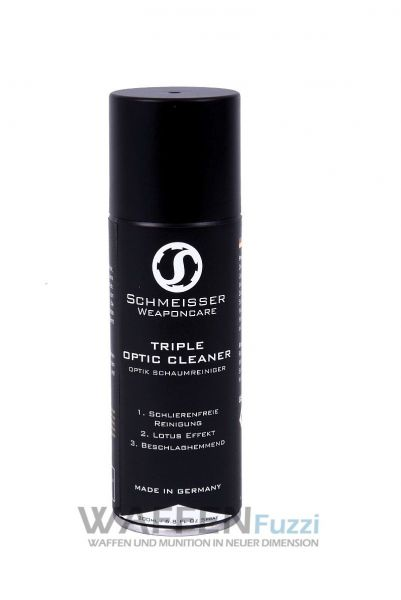 Triple Optic Cleaner 200ml Schlierenfreie Linsenreinigung