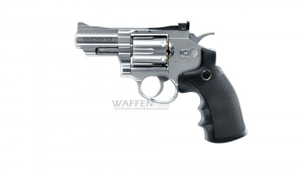 Legends S25 CO2 Revolver stainless Optik Kaliber 4,5mm Diabolo