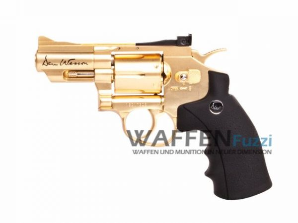 Dan Wesson 2,5 Zoll CO2 Revolver 4,5 mm BB, Gold-Edition