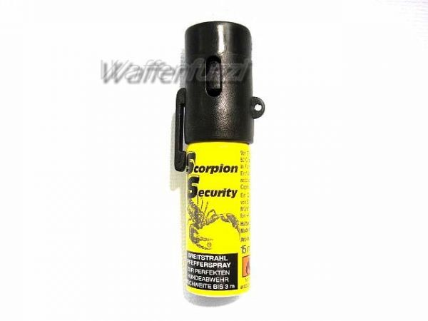 Pfeffer Gasspray 15 ml Scorpion Security