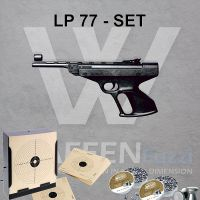 Record LP77 Luftpistole Kaliber 4,5mm Set
