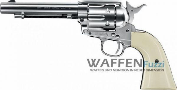 Colt Single Action Army 45 CO2 Waffe 4,5 mm BB, nickel
