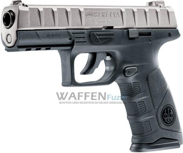 Beretta APX CO2 Pistole BlowBack 4,5 mm BB, schwarz/titan