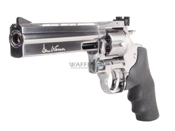 Dan Wesson chrom CO2 Revolver 4,5mm Stahl BB