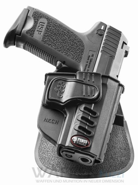 Fobus Paddle Holster für H&K USP Compact