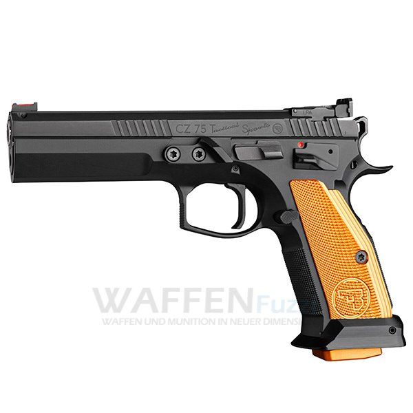 CZ 75 TS Orange Kaliber .40S&W 17 Schuss