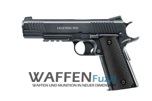 Legends Pistole 1911 4,5 mm Stahl-BB CO2-Pistole