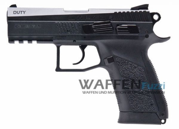 CZ 75 P-07 Duty CO2 Pistole 4,5 mm BB Blow Back, Metalslide
