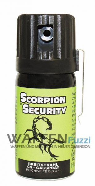 CS Gasspray 40 ml Scorpion Security